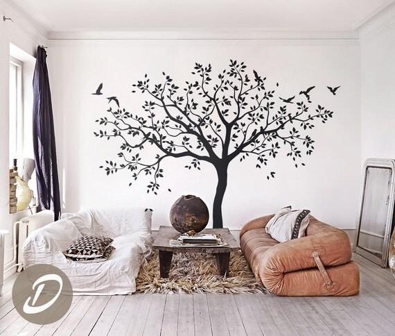 Grand arbre Stickers arbres sticker pépinière arbre mural