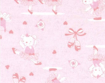 Quilter 39 s fabric for baby flowers floral words children 39 s for Children s flannel fabric by the yard