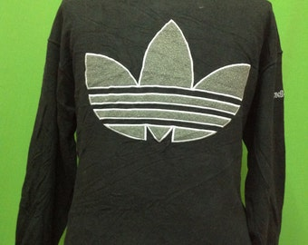 Vintage ADIDAS Trefoil big logo Sweatshirt Made in JAPAN