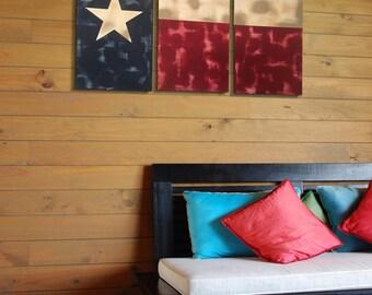 Rustic Texas Flag