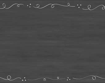 Embellished Chalkboard 24x36 Dry Erase
