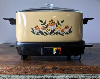 Retro Slow Cooker - Sears, Roebuck and Co. 1976
