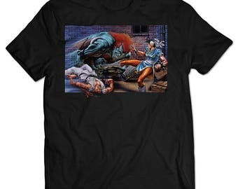 Street Fighter II: The World Warrior SNES Box Art T-shirt