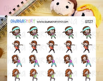 Janine DANCES Planner Stickers (G1727)