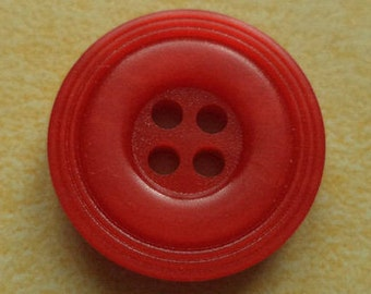 11 buttons red 18mm (4729)