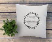 Custom throw pillow. Uniq...