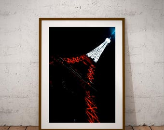 "Paris Photography, Polish Eiffel Tower, Fine Art Photography, Large Wall Art Print, 20 cm x 30 cm, 8"" x 12"""