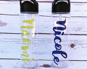 Monogrammed Water Bottle, Water Bottle, Big Little Gifts, Big Little Reveal
