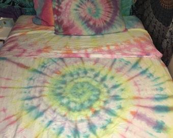 Tie-Dye Sheet Set