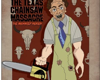 Leatherface Animated Texas Chainsaw Massacre