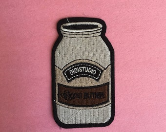 Peanut Butter Iron on Patch