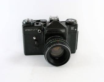Vintage Zenit E Soviet Analogue Film Camera Helios 44-2 2/58 Lens 2