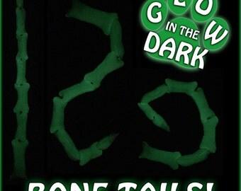 Flexi Glow in the Dark X-ray Bone Tails