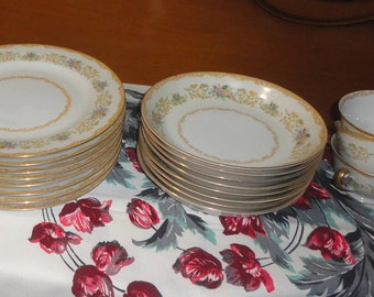 Noritake Royal China Soup Bowls Set Of 8