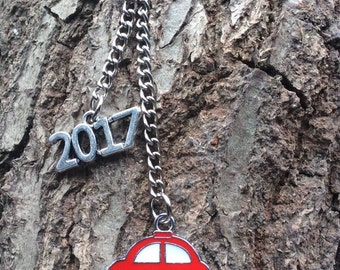 New driver keyring, congratulations on passing your driving test keyring, new driver 2017, new drivers license