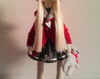 Textil interior doll toy
