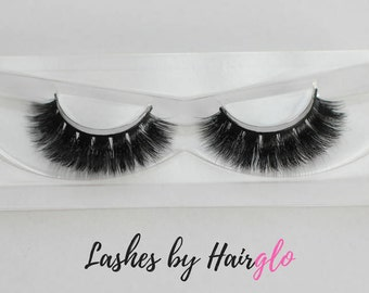 100% Mink Eyelashes, 'Sumptuous Me' Mink Fur, Falsies, Mink Lashes, Reusable, Long Fluttery False Eyelashes