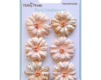 Boutique Paper Flowers - Daisies Peach