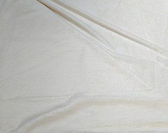 Cream Minky Blankee from Benartex