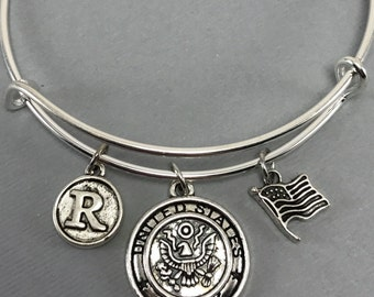 Army - Army Gift For Her - Military - Deployment Gift - Bootcamp Graduation Gift - In the Army - Army Wife - Army Girlfriend - Army Mom