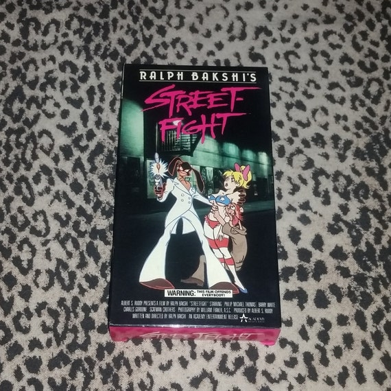 street fight vhs aka coon skin ralph bakshi x rated