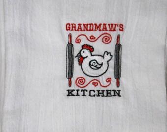 Grandmaw's Kitchen Flour Sack Dish Towel
