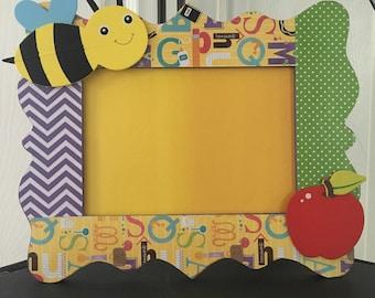Teacher Appreciation gift/wooden picture frame