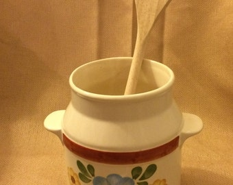 FTD Flower Vase Utensil Holder Hand Made Kitchen Measurements Portugal