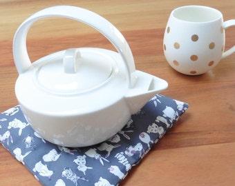 Tea Trivet Coaster With Cloves - Rabbit