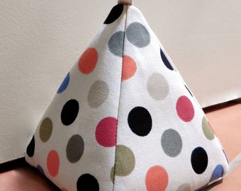 Filled Fabric Door Stop - Spot