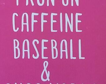 Run On Caffeine, Sports, and Cuss Words (Choose Sport)
