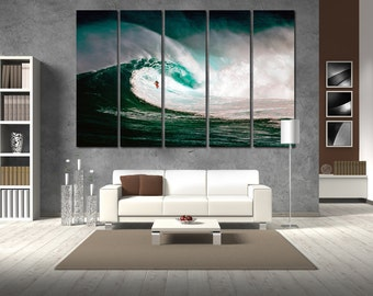 Surfing Wall Decor Surfing Ocean Surfing Canvas Motivation Surfing Poster Sport Surfing Wall Art Surfing Print Motivation Wall Decor