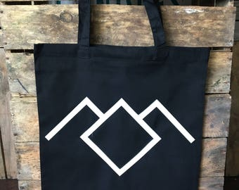 Black Lodge Twin Peaks Tote Bag