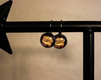 Luke's Gilmore Girls Inspired Lever Back Earrings