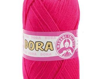 Madame Tricote DORA yarn hand knit yarn acrylic yarn color choice hand knit crochet soft yarn