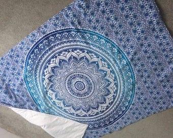 mandala beach blanket