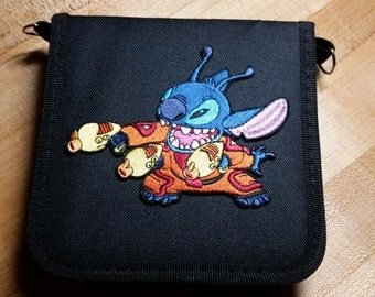 Alien Stitch Inspired Trading Pin Bag (iheartpinbags.com)