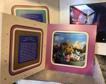 RARE Disney Anniversary ~ A Story 50 years in the Making ~ Broadcasters Promotion Collectible ~ Happiest Homecoming on Earth!