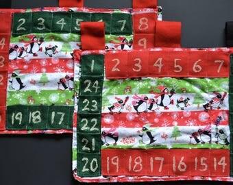 Calendar, Christmas, before, chocolates, candies, notes, kids, economical, reusable, perpetual calendar, Countdown to Christmas