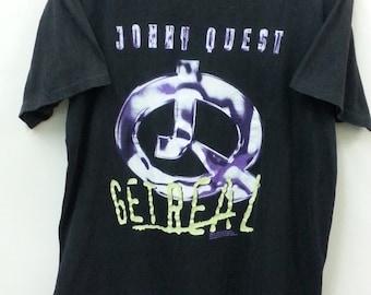 Vintage JONNY QUEST//T-Shirt Size L//Cartoon Network