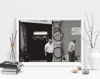 old men- pritable home decor poster
