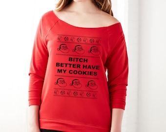 Ugly Christmas sweater, christmas sweater gift secret santa Funny Ugly Xmas Sweatshirt Women's Ugly Sweater Tacky Christmas Sweater,