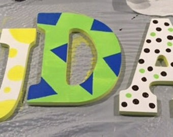 Kid's Room Hanging Wall Letters