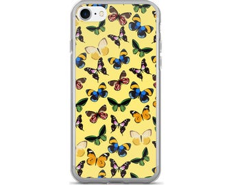 Butterfly iPhone Case, Phone Case Butterfly, Butterfly Phone Case, Protective iPhone Case, iPhone 7 Case, iPhone 6 Case, iPhone 5 Case