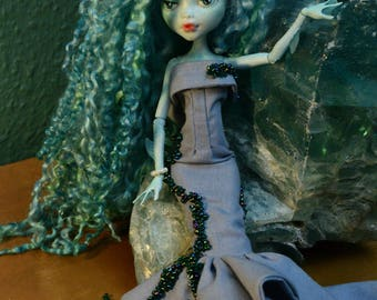 Monster high doll ooak repaint - Little Mermaid