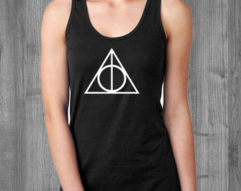 Deathly Hallows Harry Potter Tank Top