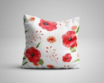 Poppies Cushion.