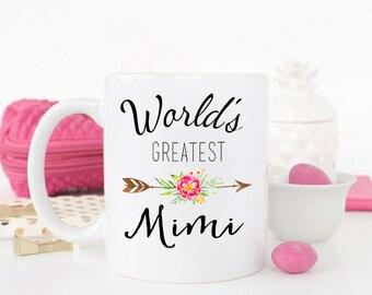 Worlds Greatest Mimi mug, gift for mimi, best mimi ever, Mimi mug, best Mimi, Mimi birthday gift, New Mimi gift