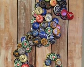 Beer Cap Seahorse