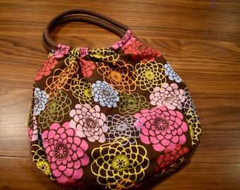 Large, Floral Market Bag